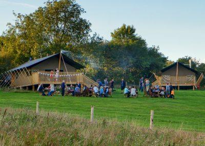 Family and Friends Camping Glamping South Devon