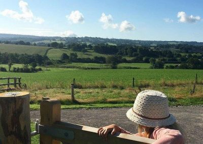 Countryside View Lower Keats Farm Glamping Devon