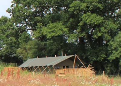 Canvas Lodges at Lower Keats Farm Glamping Devon
