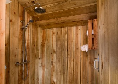 Rain Shower Lower Keats Glamping Devon