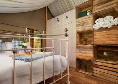 King Room Lower Keats Glamping Devon