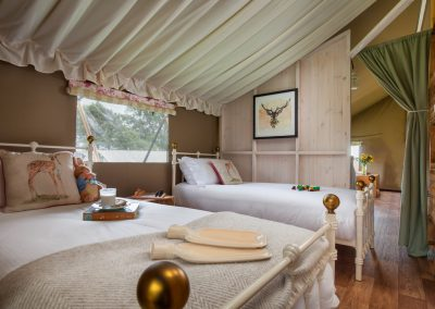 Twin Room Lower Keats Glamping Devon