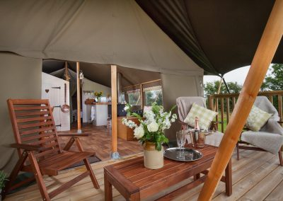 Lower Keats Farm Luxury Glamping in Devon