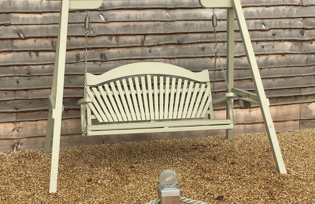 Sitting Spiritually Swing Seat